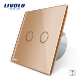 Livolo Luxury HAVE Standard Curtain Control Wall Touch Switch Vl-C702W-13