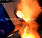horno del acero inoxidable del derretimiento 15kw para el aluminio