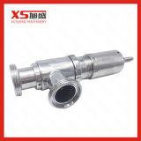 25.4mm en acier inoxydable SS304 Clapet de décharge de la sécurité d'hygiène sanitaire