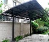 Gazebo personalizado à prova de jardim em policarbonato de alumínio Telheiro/Shelter/aluguer de Protecção solar