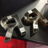 알루미늄 평지 커트 색칠 또는 솔질한 금속 편지를 전기도금을 하십시오
