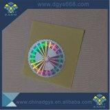 Печатание ярлыка лазера Hologram серийных номеров высокого качества нестандартной конструкции