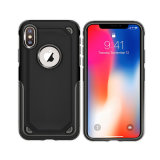 Shockproof TPU PC 2 Luxuxkasten in-1 für iPhone 8, Fall-Rüstung für iPhone X