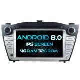 Hyundai IX35 2009-2013 4G ROM 1080P 접촉 스크린 32GB ROM IPS 스크린을%s Witson 8 코어 인조 인간 8.0 차 DVD