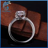최신 판매 Aaaaa 고품질 입방 지르코니아 은 반지 형식 보석