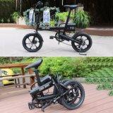 batteria di litio 36V bici elettrica di mini piegatura della rotella da 16 pollici