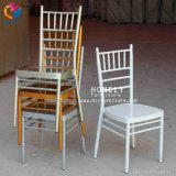 Steel Chiavari Tiffany Chair with Cushion for Wedding Events Hly-Cc030