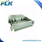 Tipo ottico casella ODF del cassetto della fibra del blocco per grafici di distribuzione del supporto di cremagliera