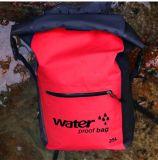 le sac imperméable à l'eau extérieur d'entreposage en sac à sac à dos du sac 25L sec transportant la natation Canoeing Kayaking de sports met en sac des sacs à dos de nécessaires de course