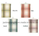Utensílios de cozinha Napa de tecido tecido na xadrez