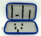 Coque rigide étanche bleu fait sur mesure EVA Boîte de rangement de cosmétique