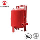 消火活動装置のための縦のステンレス鋼の泡のぼうこうタンク