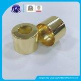 Goldsilberne Aluminium-Deckel für kosmetische Tropfenzähler