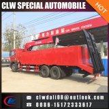 6*4 máquina multifuncional Grua com a escada da China