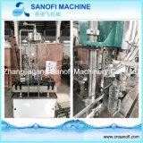 小さいびんの天然水の生産ライン