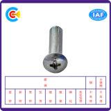 DIN/ANSI/BS/JIS Carbon-Steel/Stainless-Steel ligação transversal redonda ficha da Luva do parafuso da Indústria Mecânica