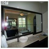 4mmの環境の友好的な銅の自由な装飾の浴室の銀ミラー