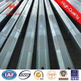 transmisión del 15m y acero eléctricos poligonales poste de la distribución