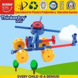 Brinquedos educacionais do enigma bonito dos blocos de apartamentos do plástico 3D para crianças