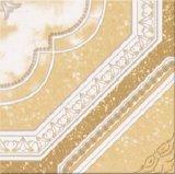 Los azulejos de cerámica vidriada de color cálido