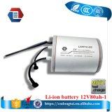 batterie Li-ion de 12V 80ah pour le système solaire et le réverbère
