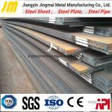 Placa de acero poco aleada que resiste a la hoja de acero resistente a la corrosión