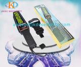 Sécurité batterie rechargeable portable haute sensibilité du détecteur de métal tenue en main