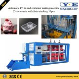 Coperchio automatico e contenitore della plastica pp che fanno macchina 25circles/Min