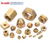 DIN1661 ISO4161 플랜지를 가진 표준 강철 육각형 견과