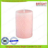 Diversas velas Shaped del pilar de la decoración por el fabricante de la vela de China