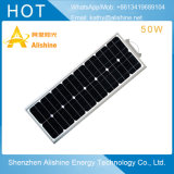 工場直接価格50W動きセンサーが付いている太陽LEDの街灯