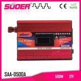 C.C. 12V de Suoer 500W ao inversor da potência solar da C.A. 230V (SAA-D500A)