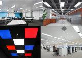 5 años de la garantía 2835 1200*600m m del panel LED de UL colgante de la iluminación