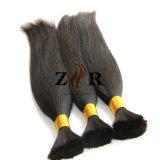 Volume brasileiro do cabelo humano de Remy do Virgin da cor natural não processada