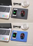 가죽 PU iPhone Samsung 이동 전화 무선 충전기를 위한 무선 비용을 부과 마우스 패드