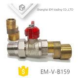 Шаровой клапан в алюминиевую ручку /бабочка рукоятку (EM-V-B159)