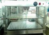 Le réchauffement des aliments en acier inoxydable commerciale Showcase, de la nourriture plus chaudes (DFW-610-2TL)
