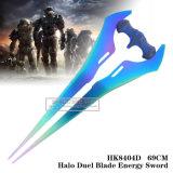 O combate do halo evoluiu espadas 69cm
