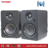 De Sprekers van het Boekenrek van Bluetooth - de Actieve Monitors van de Studio van het dichtbijgelegen-Gebied - Aangedreven Sprekers 2.0 Houten Bijlage van de Opstelling -2 X 30W
