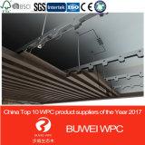 Крытая декоративная линия потолка материала WPC