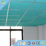 Material de construcción de la tarjeta del techo del panel acústico del panel de pared