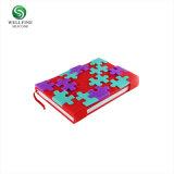 Couvercle en silicone de flocons de neige le bloc-notes Bloc-notes de bricolage créatif Puzzles