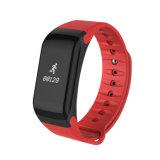 Le sport bande Bluetooth Smart Bracelet avec la fréquence cardiaque