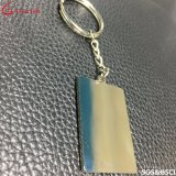中国の工場税関の形の金属のKeychain /Keyの札かキーのホールダー