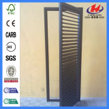 Дверь складчатости Lourver сосенки Bi-Fold деревянная (JHK-B07)