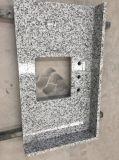 Controsoffitto del granito G655 di Tong'an & parte superiore bianchi prefabbricati di vanità