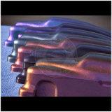Изменение цвета порошковой краски хамелеон слюда Pearl пигмента