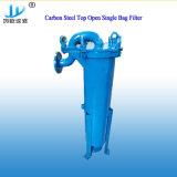 Solo cárter del filtro de bolso del acero inoxidable para la industria química