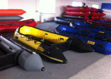Liya 2m-6.5M plástico barato Barco de Pesca barco inflável de Alta Velocidade