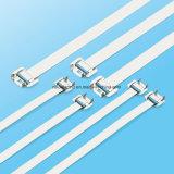 Kabelklemmen van het Roestvrij staal van de Levering van de fabriek de Materiële Releasable